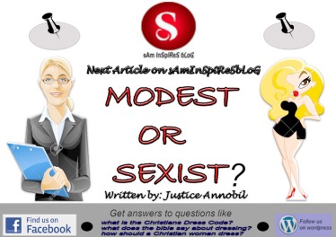 MODEST OR SEXIST